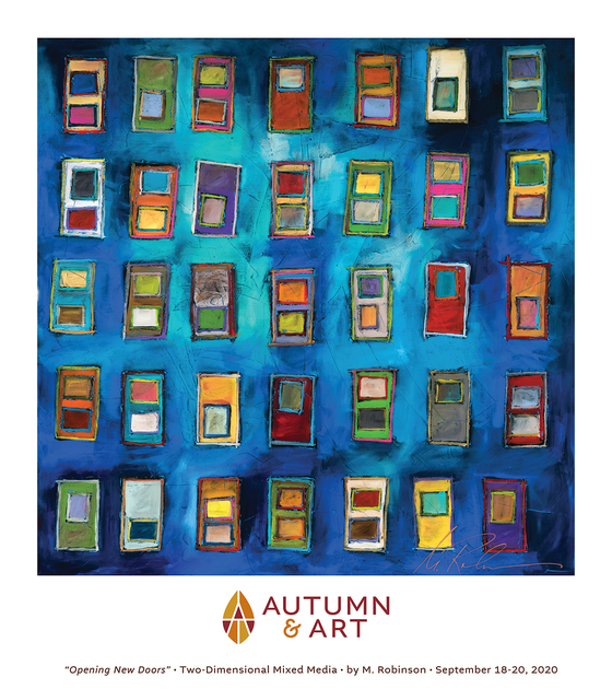 Image of Autumn & Art 2020 Featured Artist Poster