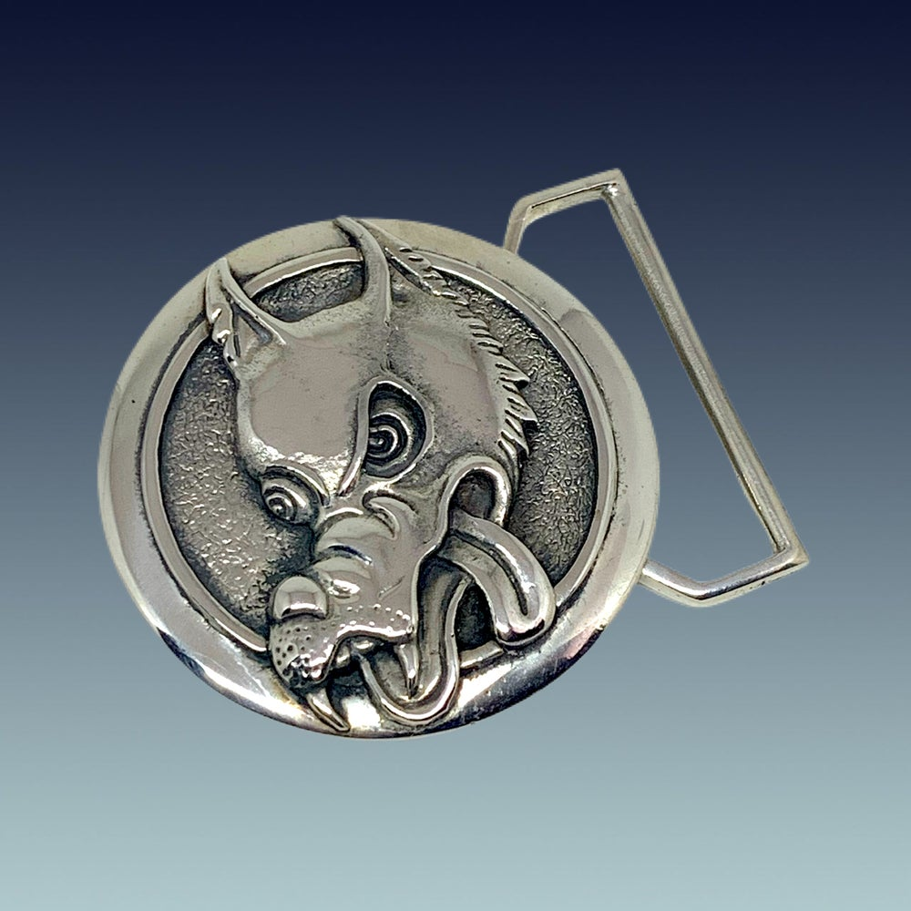 Image of Wolf Buckle
