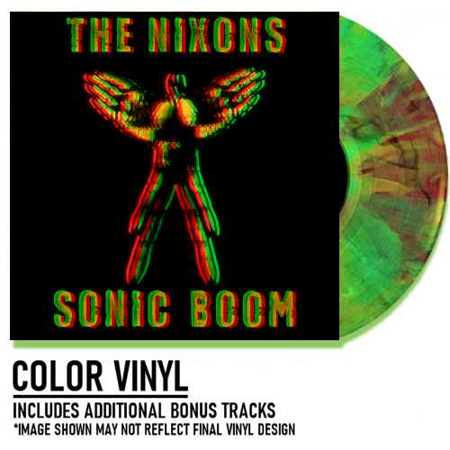 Image of Sonic Boom Colored Vinyl