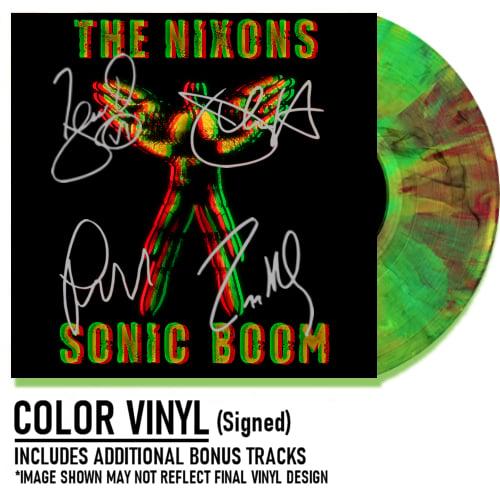 Image of Sonic Boom Bundle Color Vinyl Signed