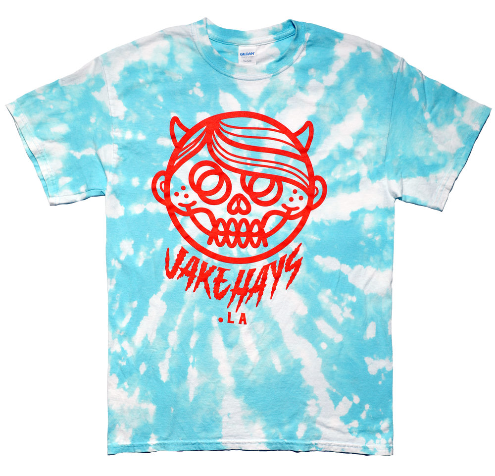 "Image of *NEW* TIE-DYE ""DEVILBOY"" BLUE"
