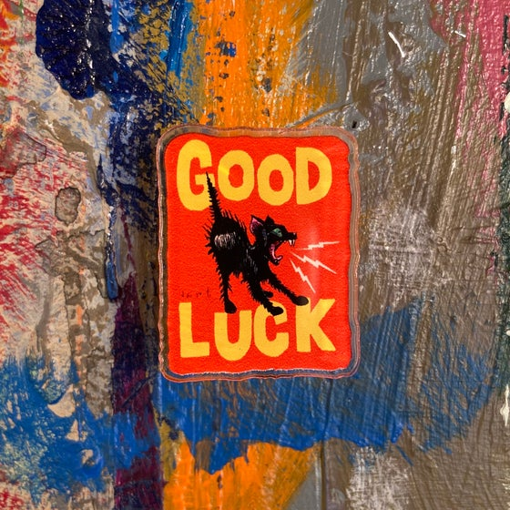 Image of GOOD LUCK ACRYLIC PIN