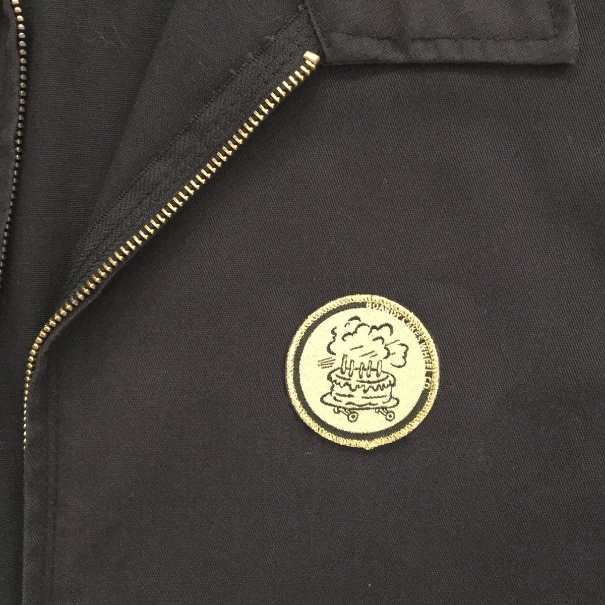 Image of Boardy Cakes OG Logo Iron-On Patch