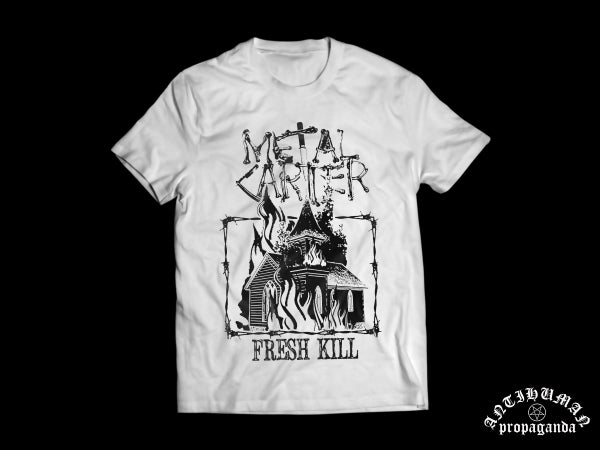 Image of Metalcarter - Church FRESH KILL White