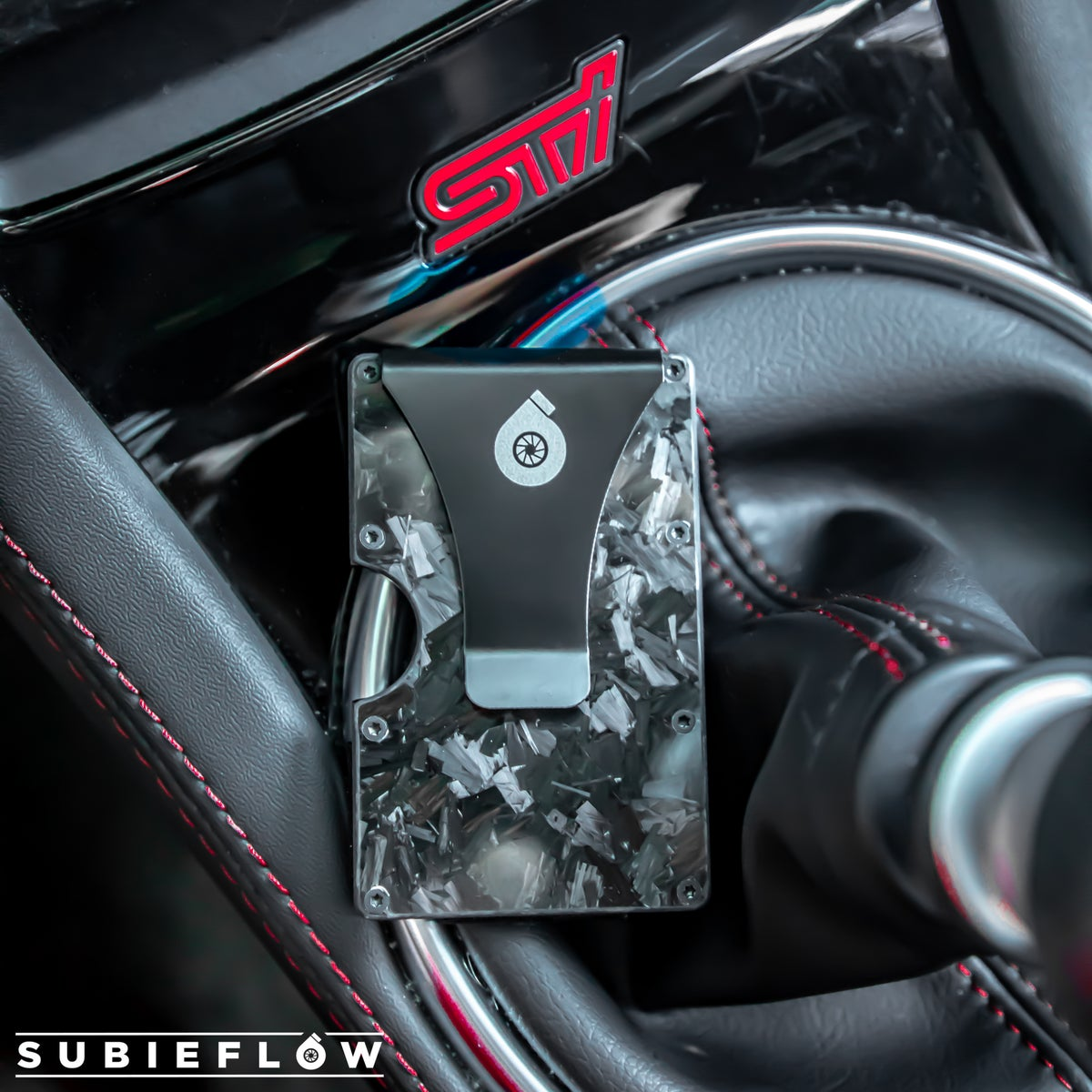 Image of SubieFlow Forged Carbon Fiber Wallet