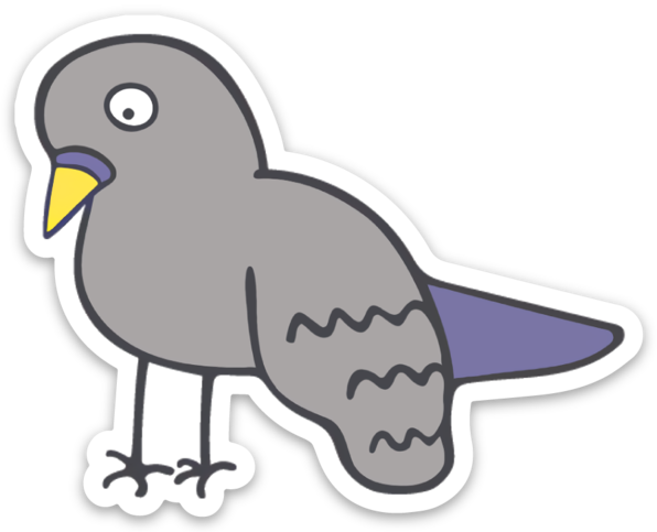 Image of Pigeon Sticker