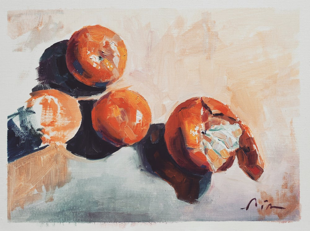 Image of Mandarins prints