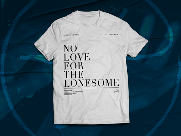 Image of NO LOVE T-SHIRT