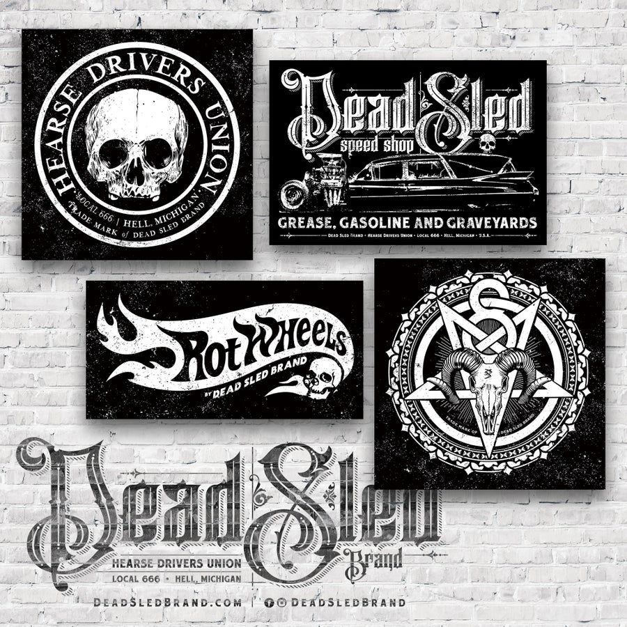 Image of Dead Sled Vinyl Shop Banners