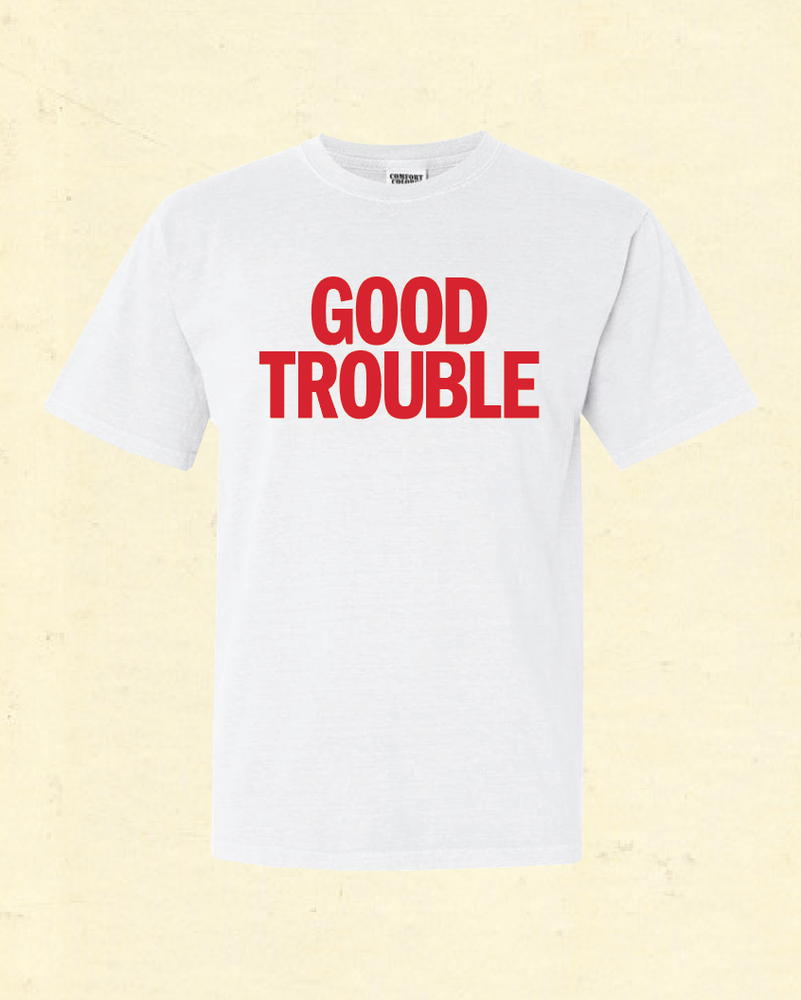 Image of GOOD TROUBLE - White