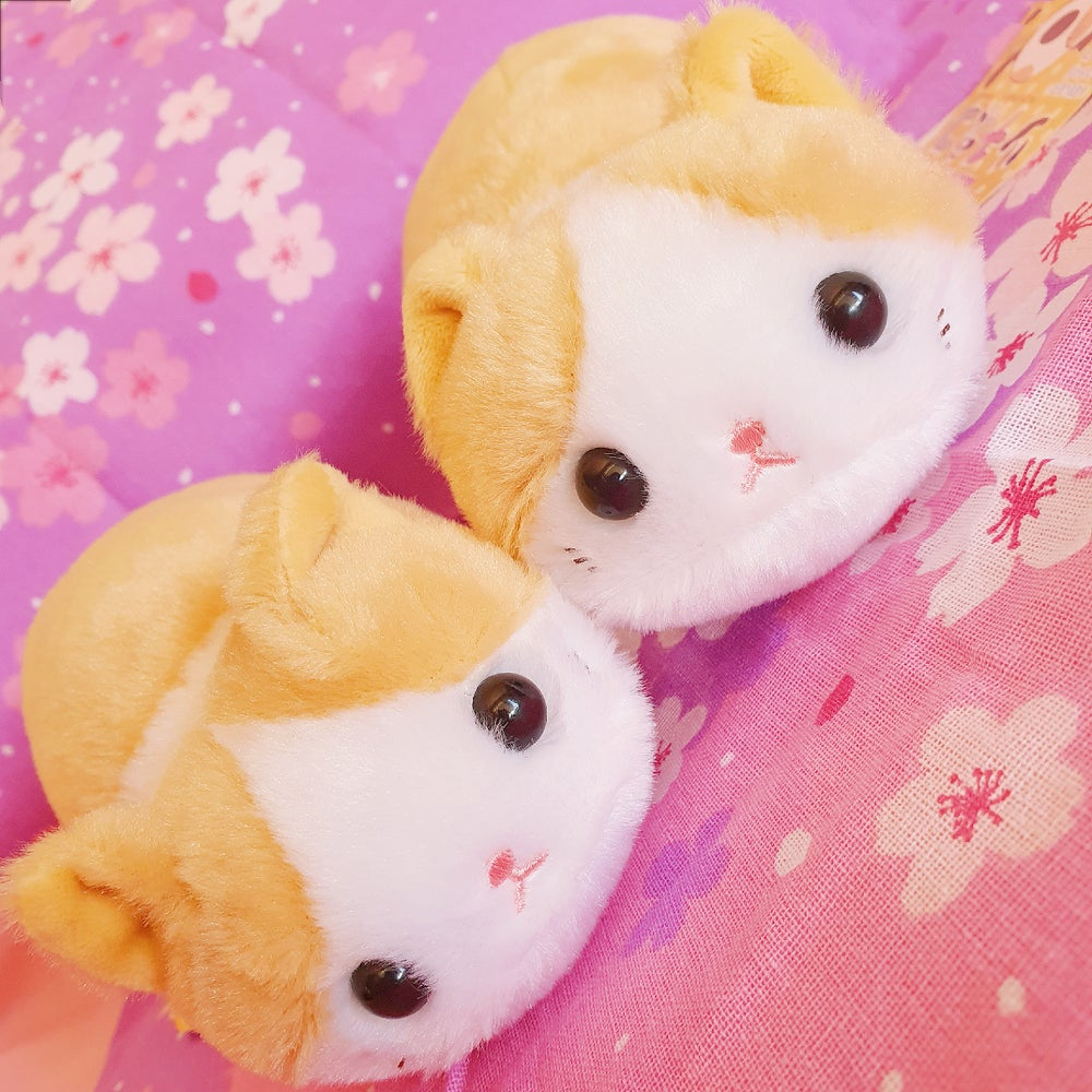 Image of Caramel Kitten Plushie - Loaf Kitty Style from Japan!