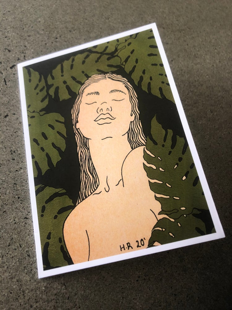 Image of Garden woman by Helana Ray gift card