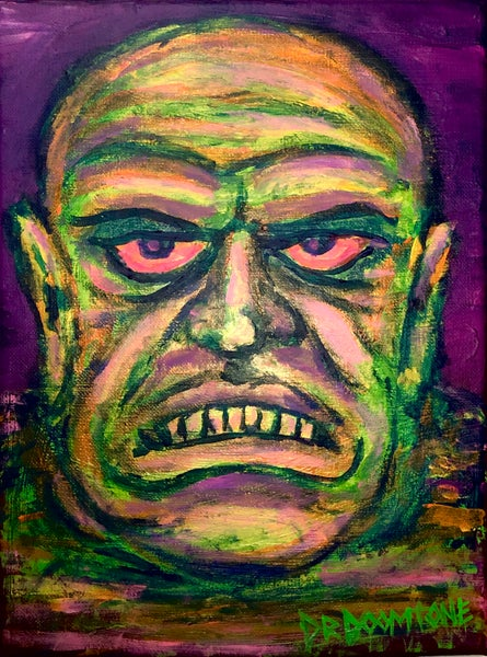 Image of Anxiety Rage Painting