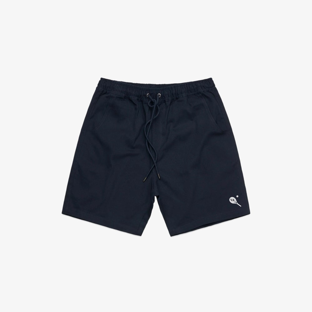 Image of FP TENNIS CLUB SHORT, NAVY BLUE