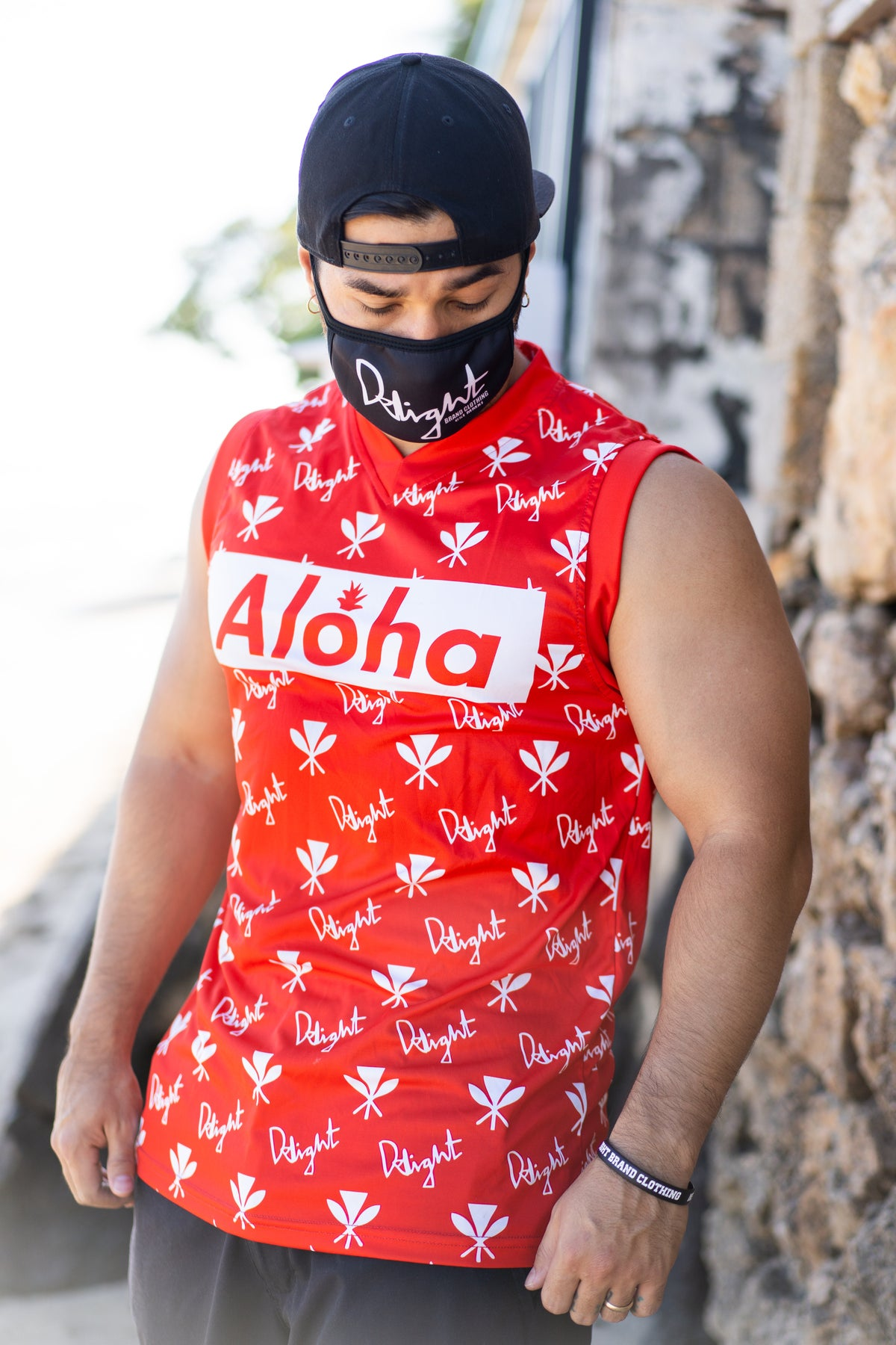 Aloha Slapped Sublimation Jersey (Red)