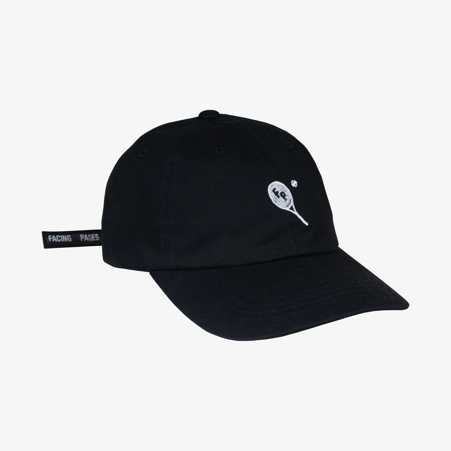 Image of FP TENNIS CLUB HAT, BLACK