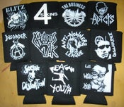 Image of Punk Rock and Oi! Drink Koozies