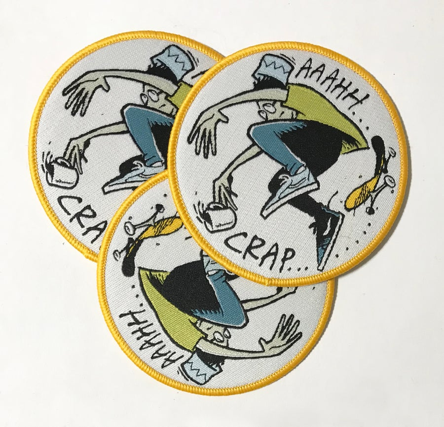 Image of WRENCH PILOT / LETTUS BEE patch
