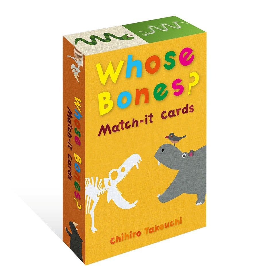 Image of Whose Bones? Match-it Cards