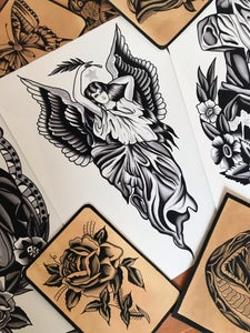 Image of A3 Angel Print