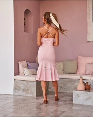 Image of Eveleen dress. Blush. Two Sisters the Label.