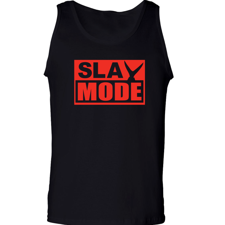 Image of SLAY MODE Tank Top (black)