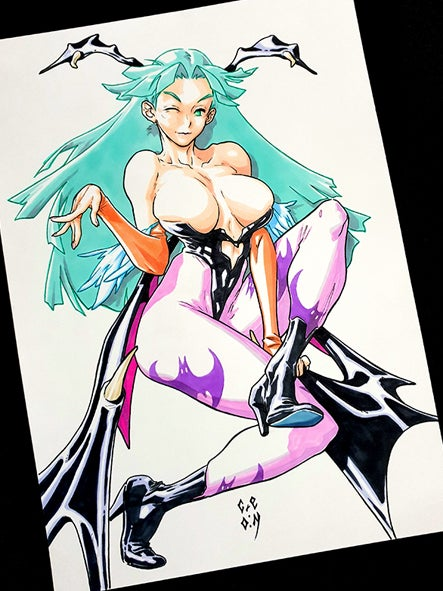Image of MORRIGAN - Darkstalkers