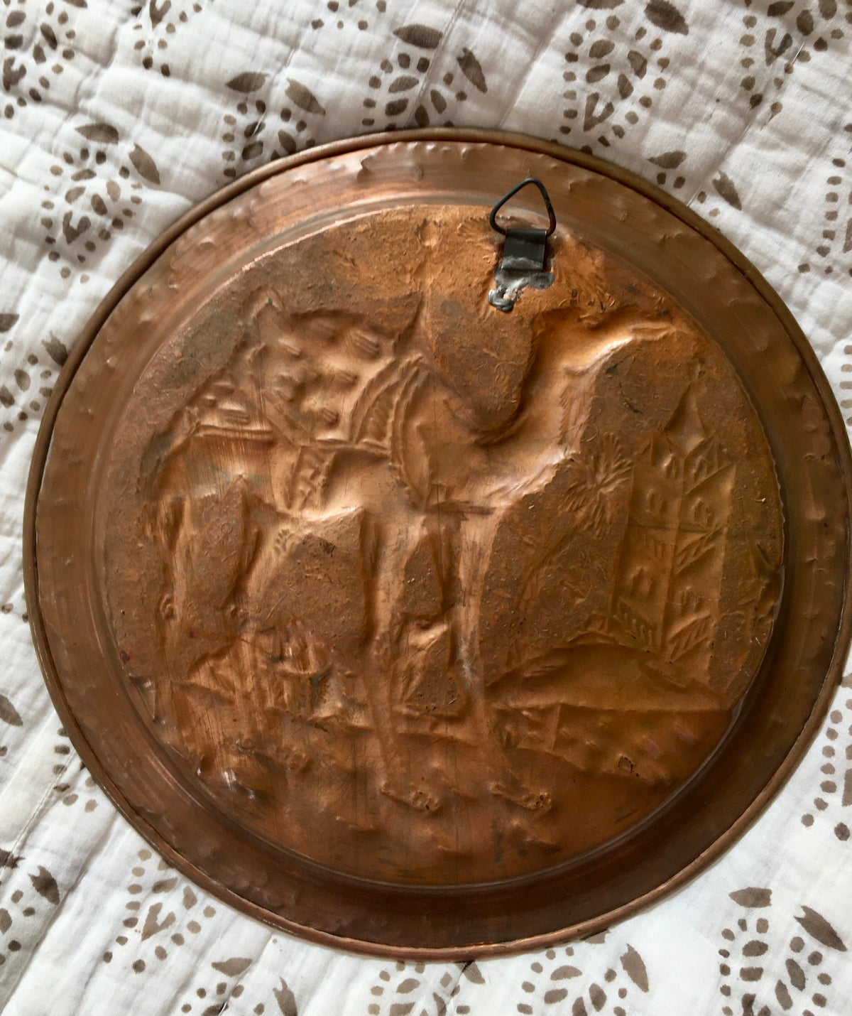 Moroccan Copper Wall Plate