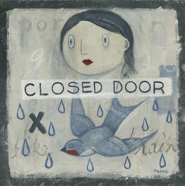 Image of Closed Door