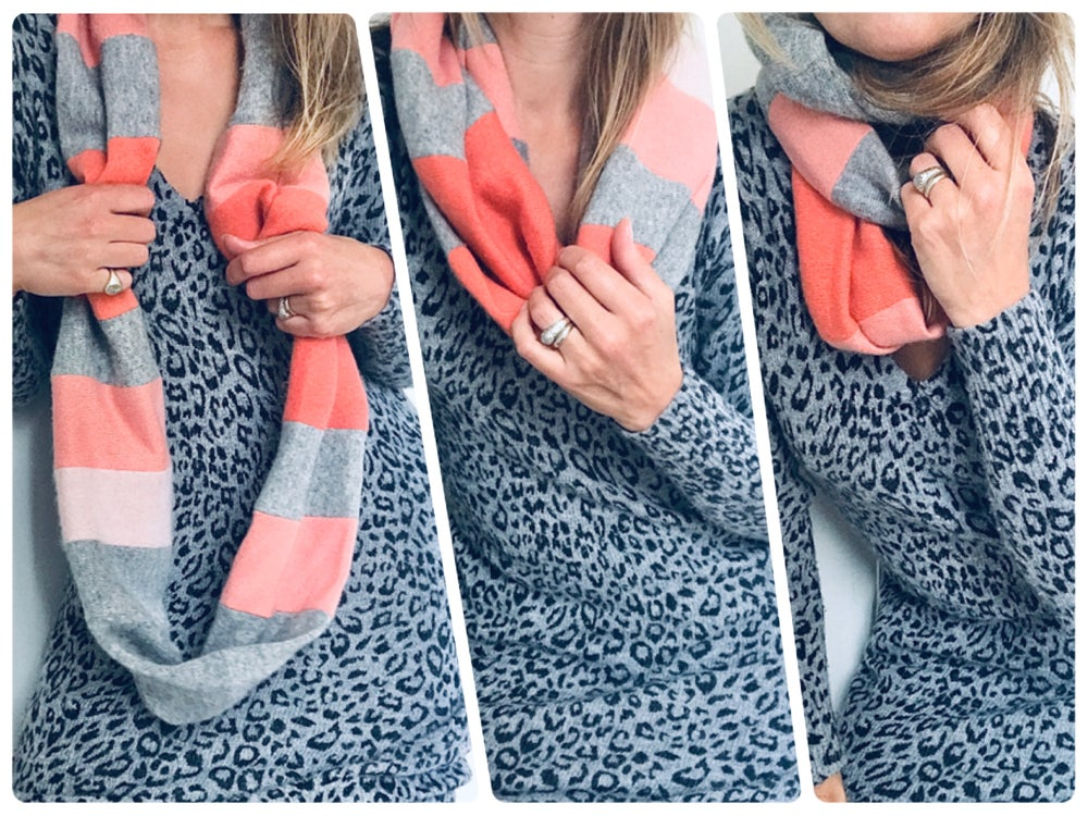 Image of Repurposed Cashmere Infinity Scarf