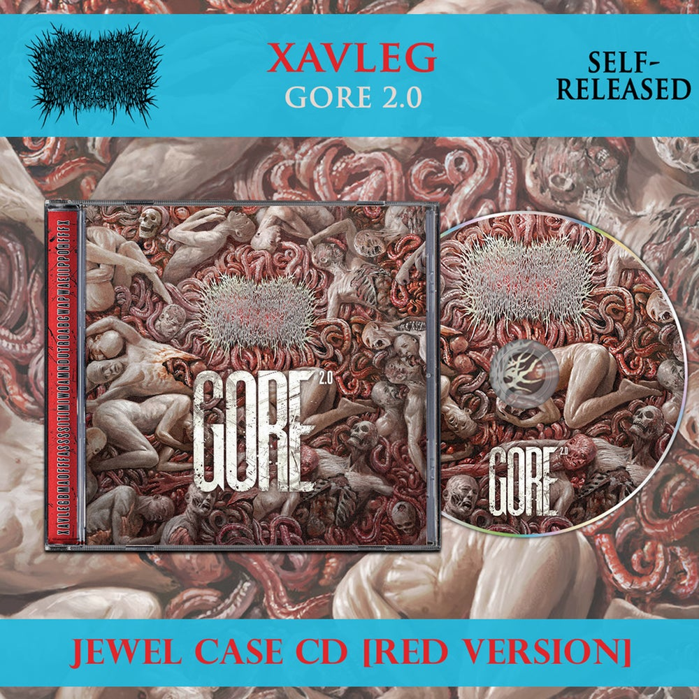 Image of Xavleg – Gore 2.0 – CD