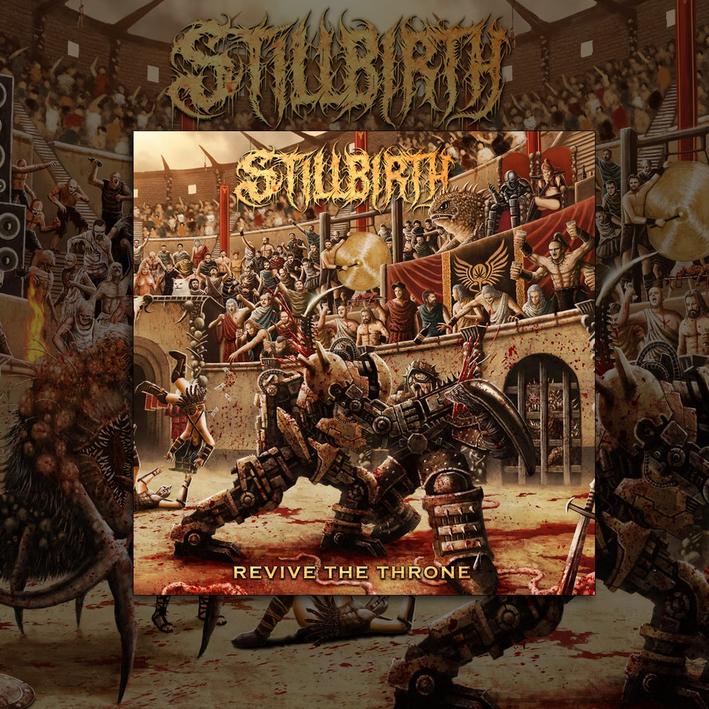 Image of Stillbirth – Revive the Throne – Digipack CD / LP