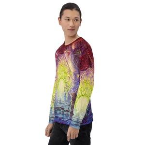 The Wanderer Allover Print Unisex Sweatshirt by Mark Cooper