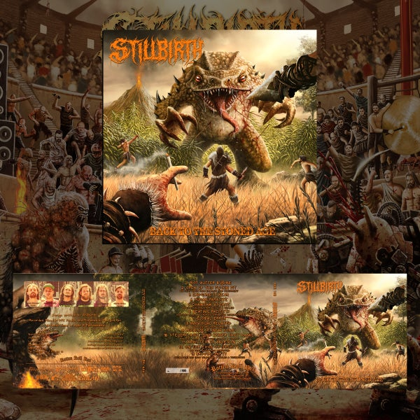 Image of Stillbirth – Back to the Stoned Age – Digipack  CD – Limitiert