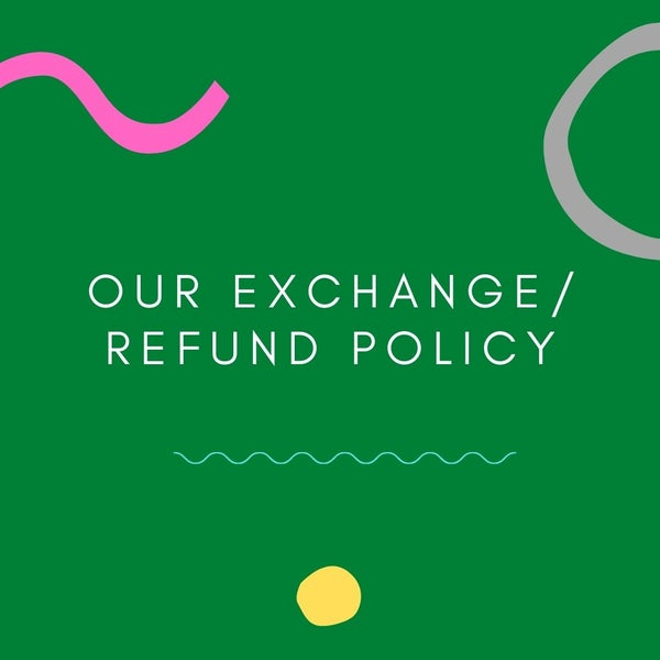 Image of Inspirasia's Exchange/Refund Policy