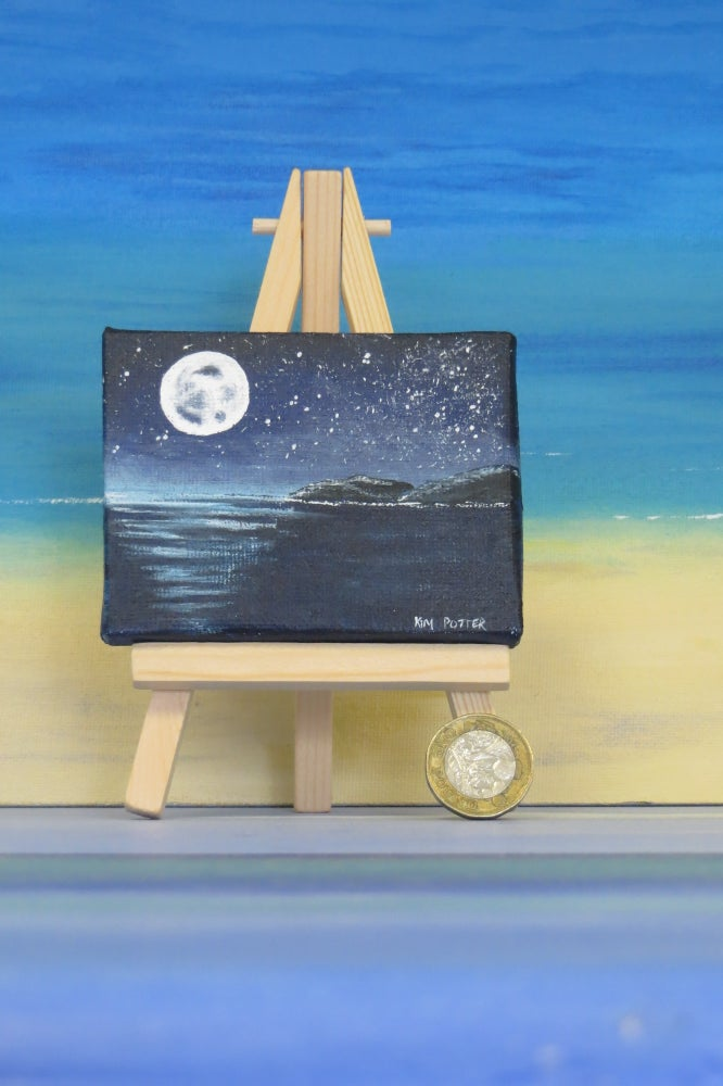 Image of Moonscape Seascape