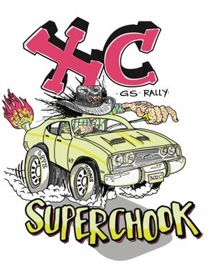 Image of SUPERCHOOK official enthusiasts' tee