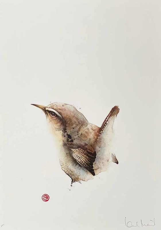 Image of KARL MARTENS - 'WREN' - LITHOGRAPH - SIGNED & STAMPED