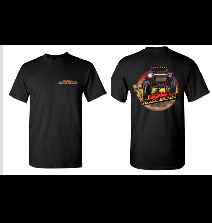 Image of Sunset Fade T-Shirt Feat RJ Fab