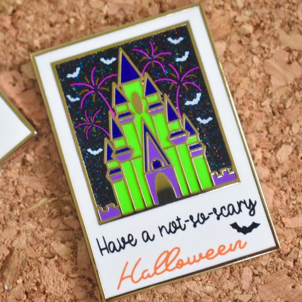 Image of Not-so-scary Castle pin - (30% OFF)