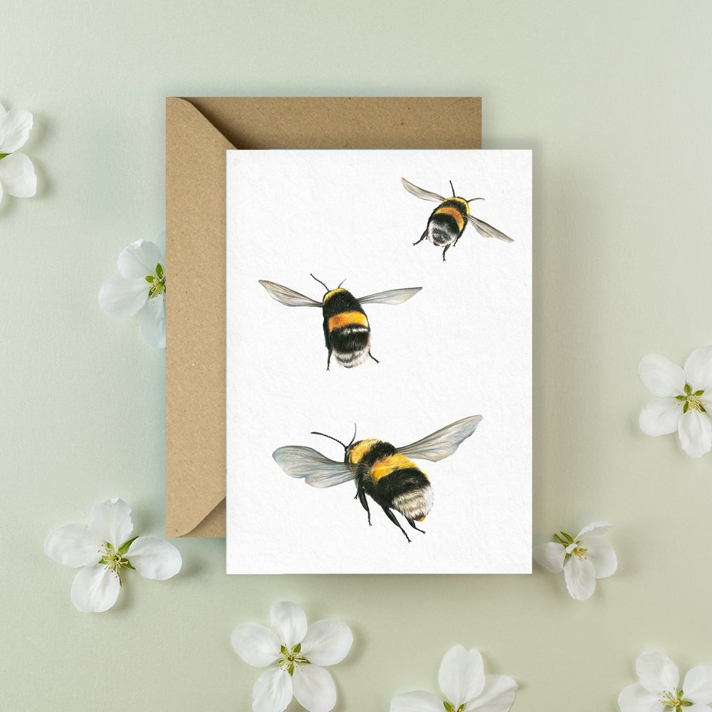 Image of 'Bumblebee' Greeting Card