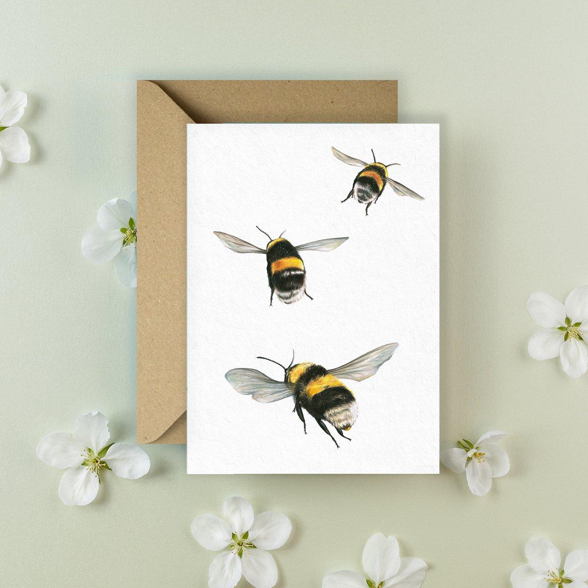 Image of 'Bumblebee' Greeting Card