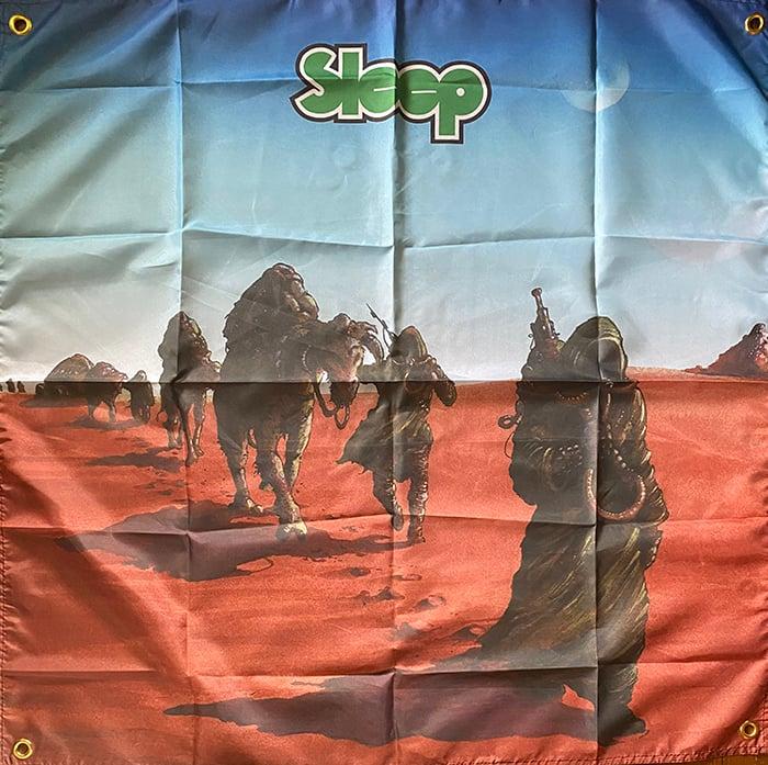 """Image of Sleep """" Dopesmoker """" Flag / Banner / Tapestry"""