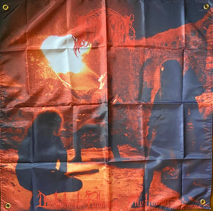 """Image of Immortal """" Diabolical Fullmoon Mysticism """"  Flag / banner / Tapestry"""