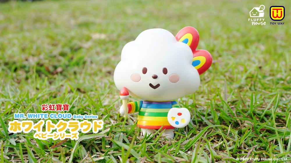 Image of Mr. White Cloud Baby Series - Capsule Toy Set