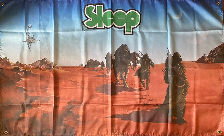 "Image of Sleep ""Dopesmoker"" Flag / Banner / Tapestry"