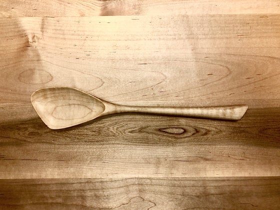 Image of Curly Maple Spoon