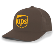 Image of UPS Embroidered Pacific Headwear Trucker Cap