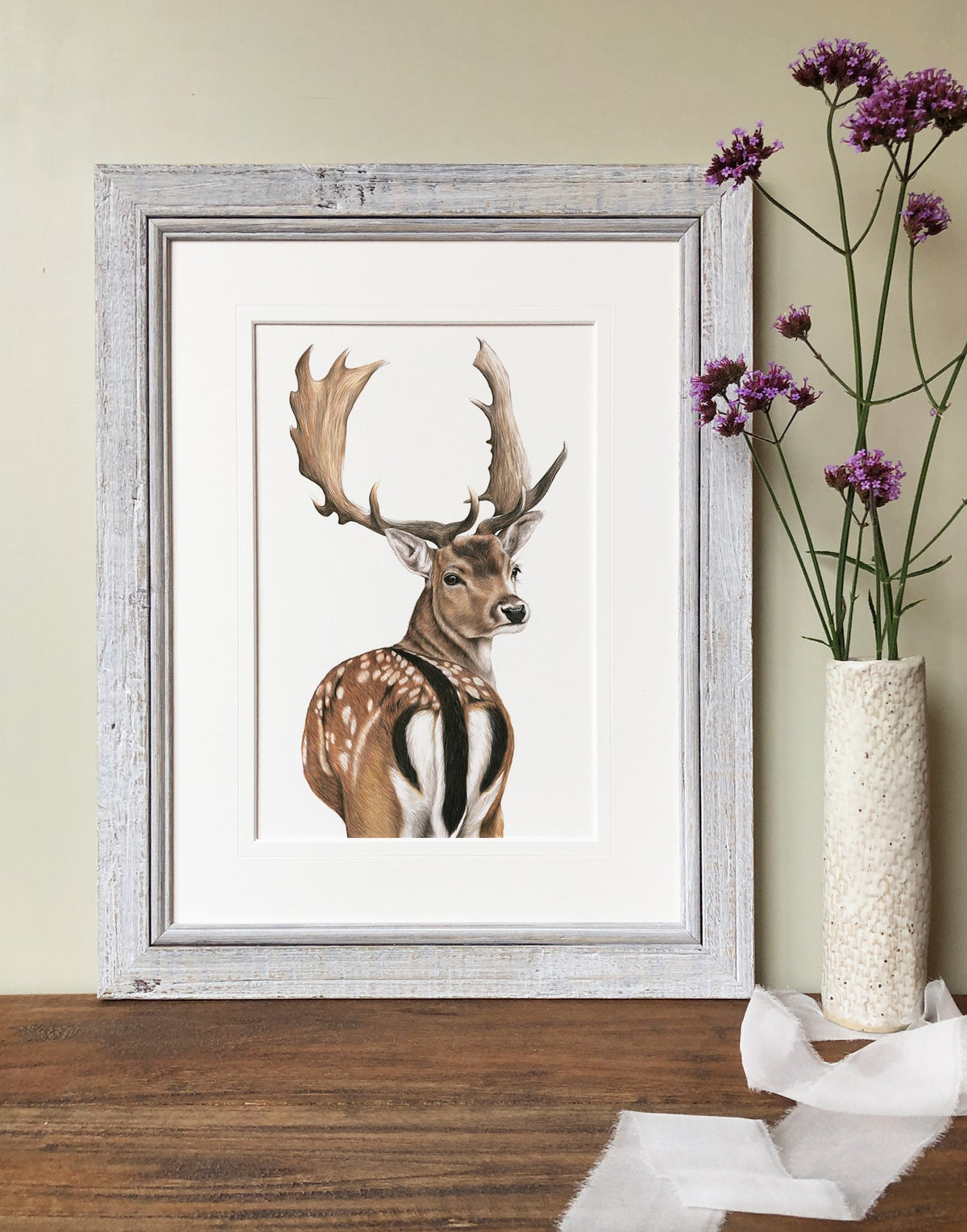 Image of 'Fallow Deer' Limited Edition Print