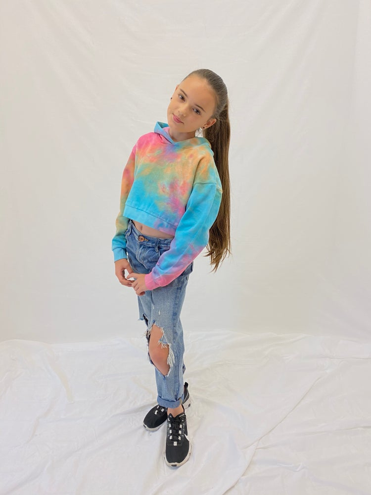 Image of Junior Pastel Crop Hood